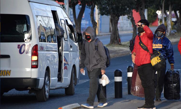 Registran alta movilidad de transporte público 7 nodos viales de la capital