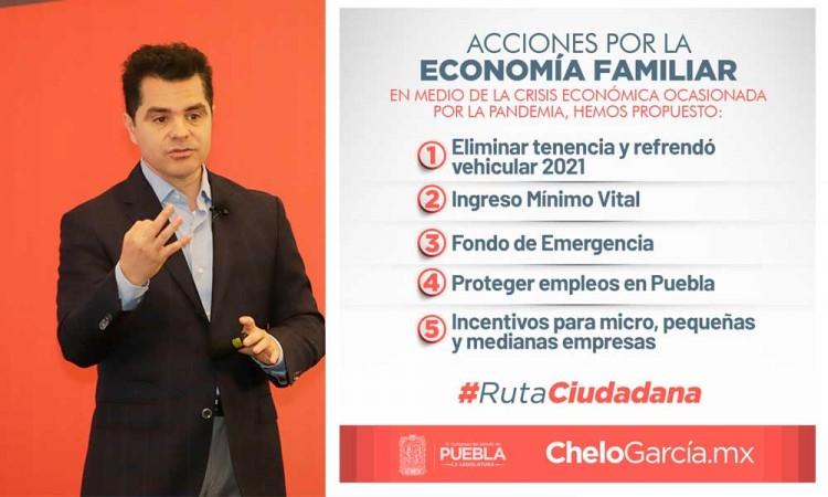 Diputado Marcelo García refrenda compromiso por proteger economía familiar