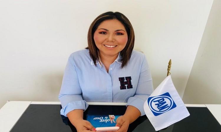 Primero que nos entregue bien la casa y luego piense en reelegirse: PAN a Claudia Rivera