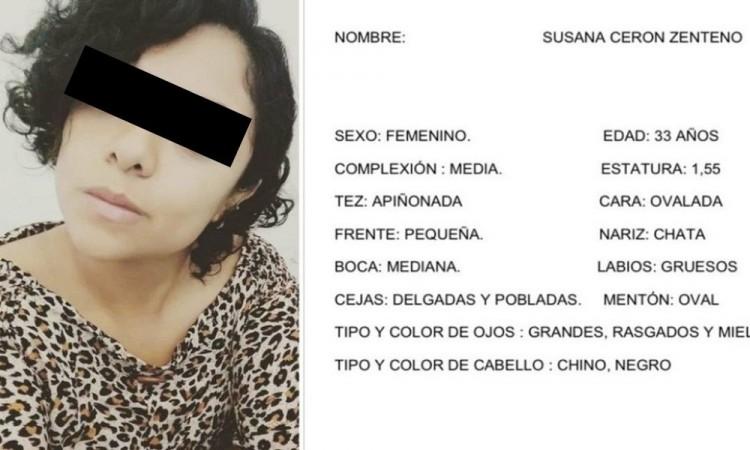Detienen a presunto feminicida de Susana Cerón