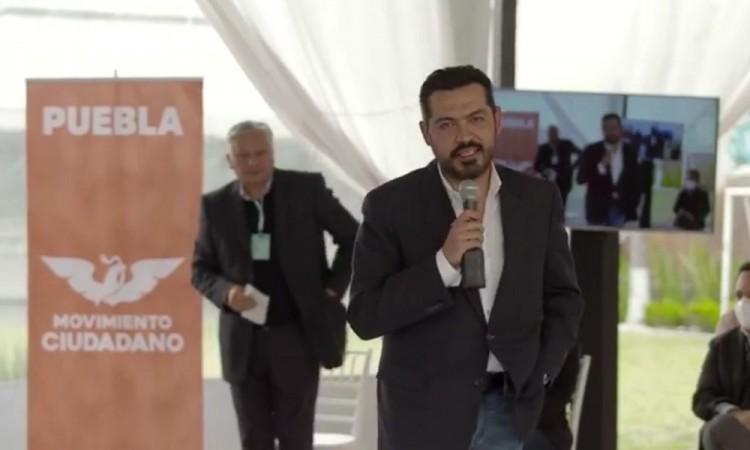 Presenta Movimiento Ciudadano a aspirante denunciado por violencia política