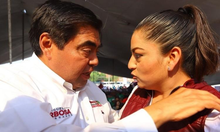 Que presente gobernador pruebas de repartición de candidaturas: Claudia Rivera