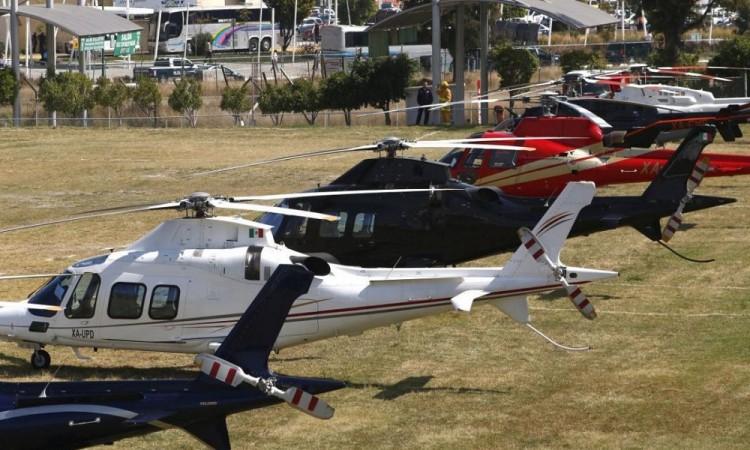 """Prefiere gobierno rentar y no utilizar helicópteros propios porque era muy costoso"""""""