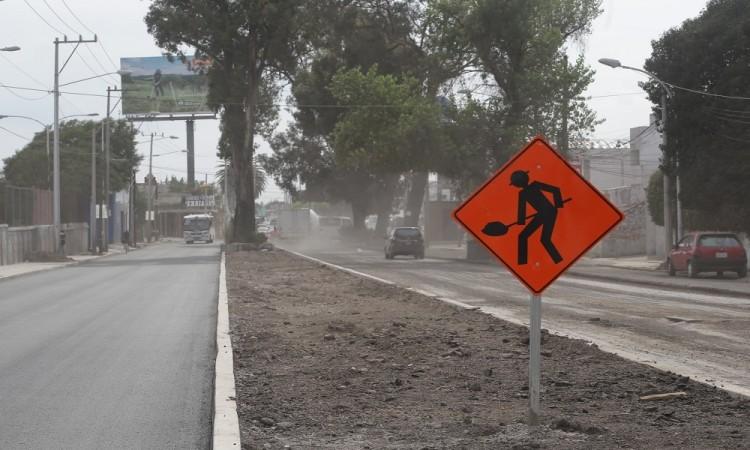Tras suspensión de obras por contingencia, reanudarán ejecución del Corredor de Movilidad Xonaca