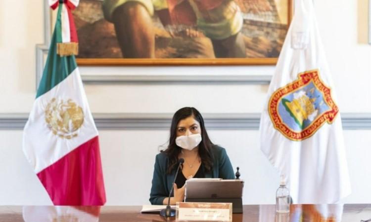 Presume Claudia Rivera reducción de incidencia delictiva del 43 % en la capital