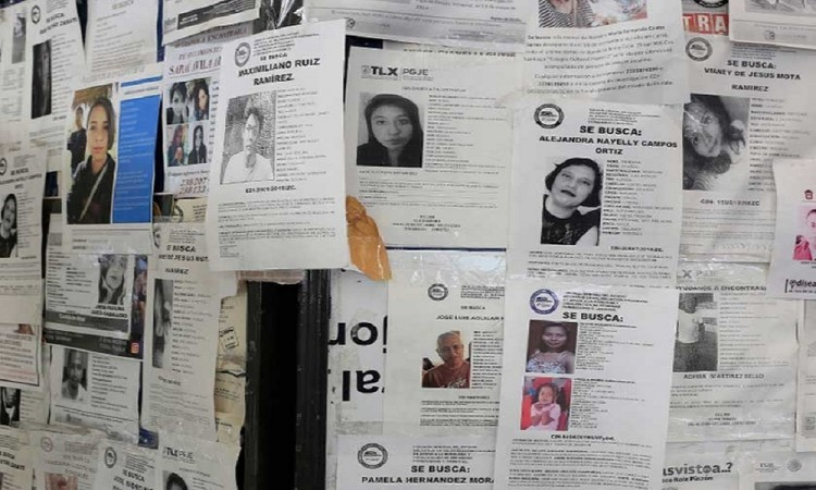 Solo en 25 municipios se han localizado a personas desaparecidas, reconoce David Méndez