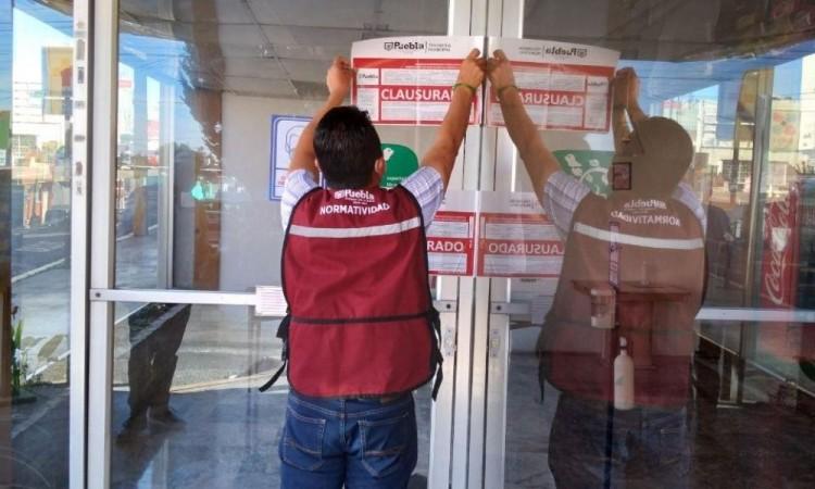 Clausuran ochos establecimientos en la primera semana del regreso de actividades paulatinas