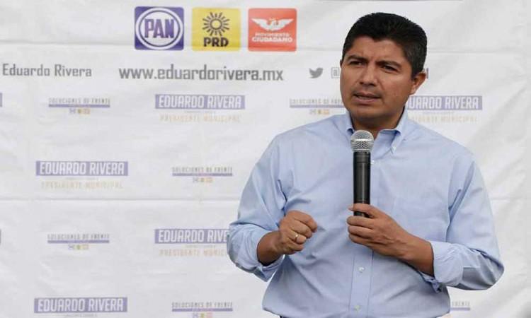 Impulsarían PRD y PRI, sin el PAN, a Lalo Rivera para la alcaldía de Puebla
