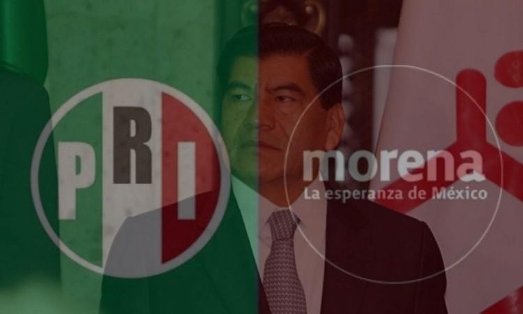 Mientras el PRI calla, Morena celebra detención de Marín