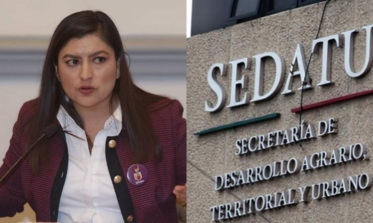 Obras con Sedatu no serán suspendidas por órdenes de una persona: Claudia Rivera