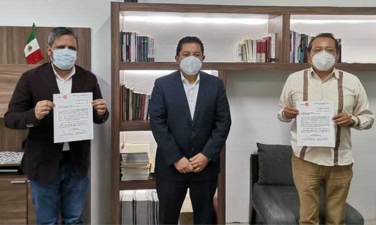 """Morena y PT confirman coalición """"Juntos Haremos Historia en Puebla"""" durante la elecciones"""