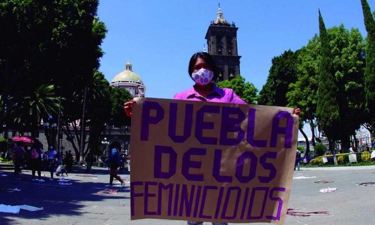 El gobierno del estado no hace nada para resolver el alza en feminicidios en Puebla: Genoveva Huerta