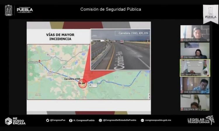 México-Puebla y Puebla-Córdoba entre las carreteras con mayor índice delictivo