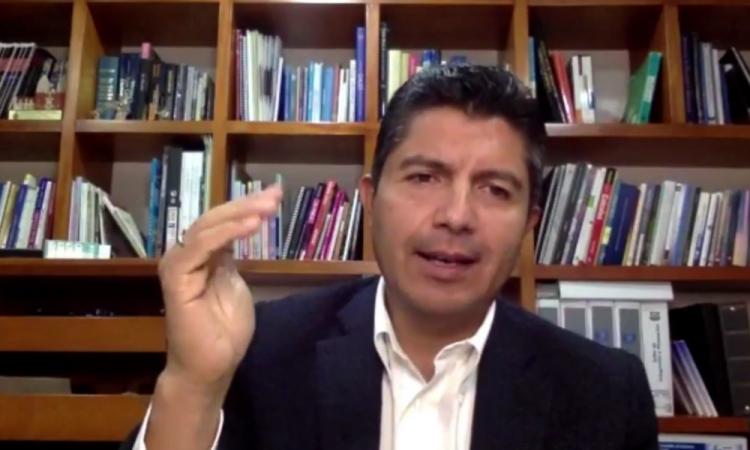 Eduardo Rivera se deslinda de tema Marín ante coalición con PRI