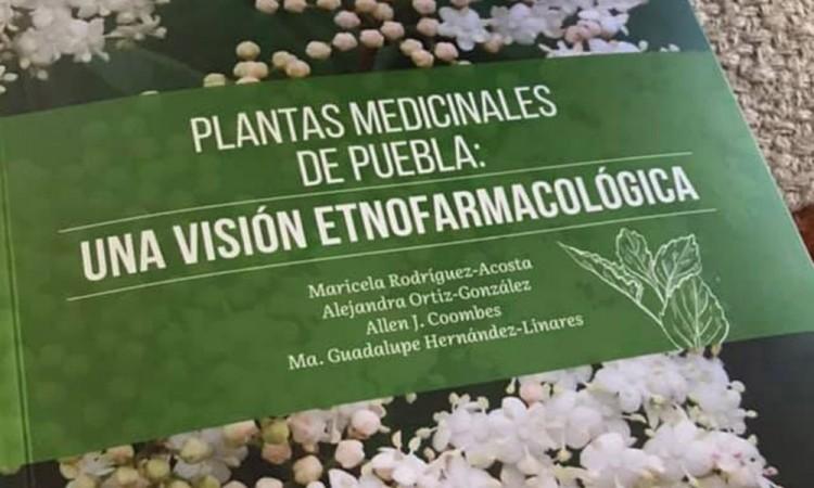 Jardín Botánico BUAP publica libro sobre plantas medicinales