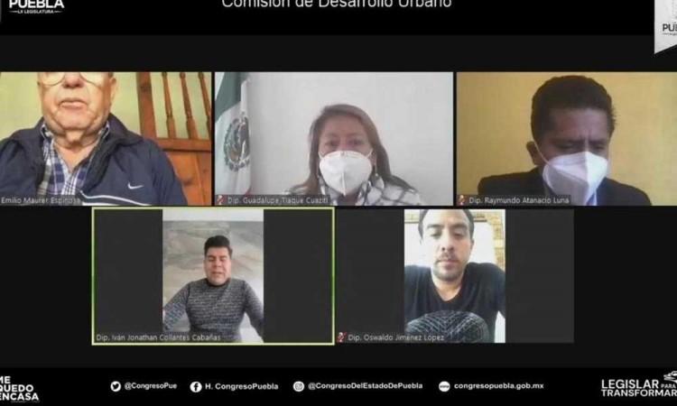 Avalan acceso a planes y programas urbanos en Puebla para que estén al alcance de los ciudadanos, la propuesta fue turna