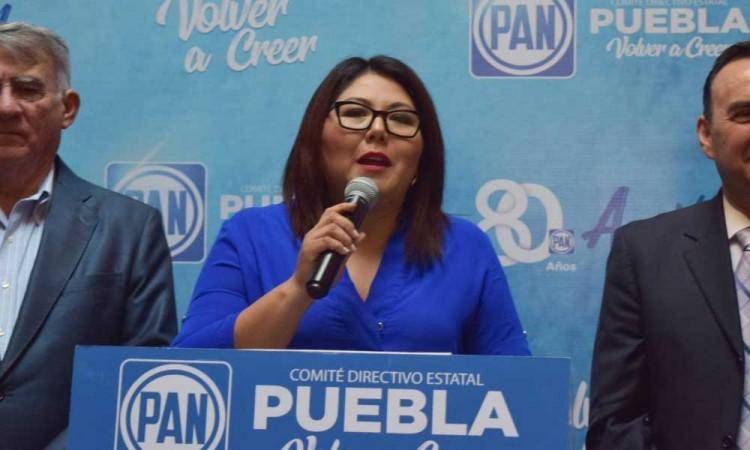 Asegura Genoveva Huerta que todos están en su derecho, respecto a los 5 aspirantes que buscan la candidatura del PAN a l