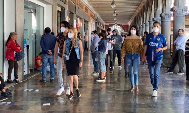 Domingo, el día con mayor concentración de poblanos en Centro Histórico