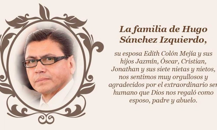 Hugo Sánchez Izquierdo, una voz periodística que se apagó