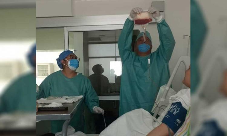 Realizan en el Hospital Especialidades 5 de Mayo trasplante de células troncales