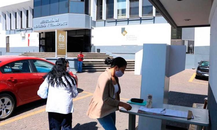 Reanuda SMT servicio de expedición de documentos en las oficinas de La Paz