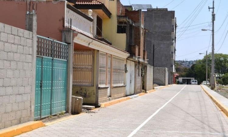 Con obra pública, Ayuntamiento mejora calles en San Jerónimo Caleras