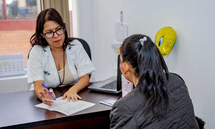Claudia Rivera trabaja en la prevención y erradicación de la violencia contra las mujeres