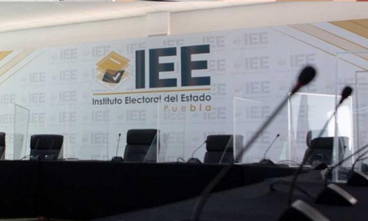 Avala IEE inicio de registro para candidaturas en Puebla; inician el 29 de marzo