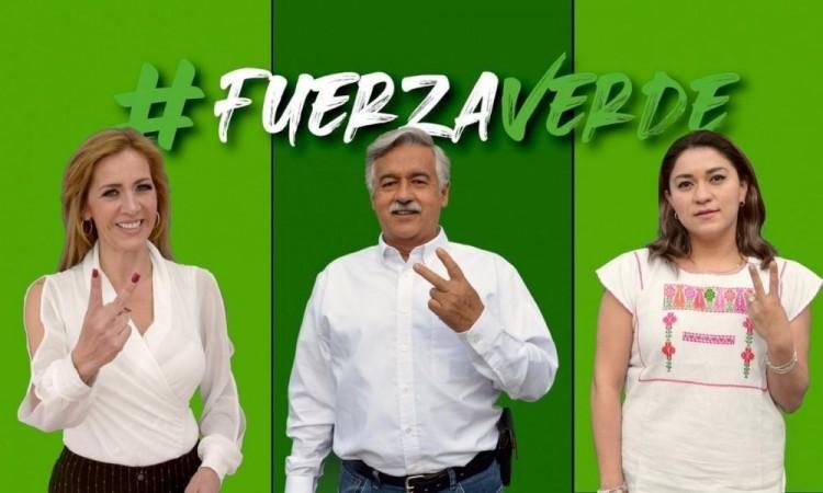 Presenta el Verde a sus candidatos a diputados federales por Puebla; entre ellos, conductora de TV Azteca