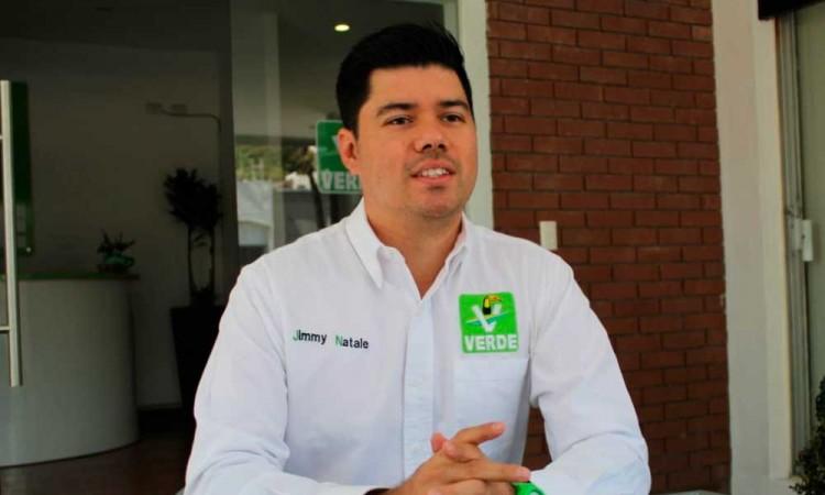 El Partido Verde no se verá afectado por peleas internas de Morena, afirmó Jimmy Natale