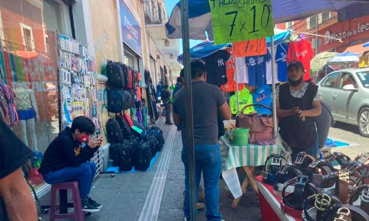 Empleo formal contra empleo informal, la nueva dinámica durante la contingencia sanitaria en Puebla