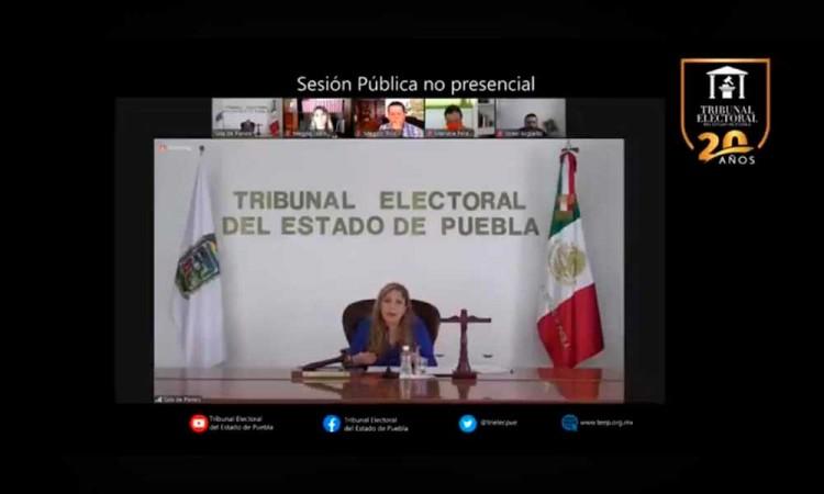 Aun cuando concluya la fecha de registros de candidatos, el Trielec puede tumbar designación en Puebla