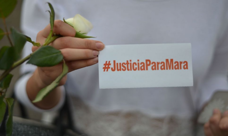Colectivo pide sentencia máxima contra feminicida de Mara Castilla