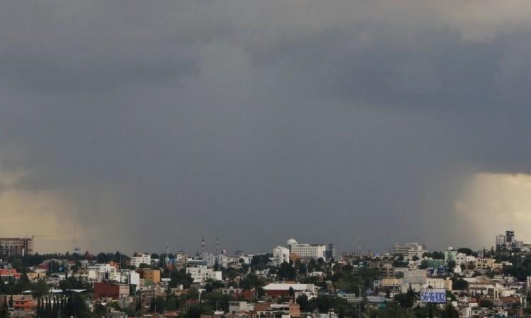 Se esperan lluvias en Puebla