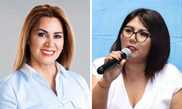 Blanca Jiménez en contra de Genoveva Huerta por firma de Compromisos Por las Mujeres