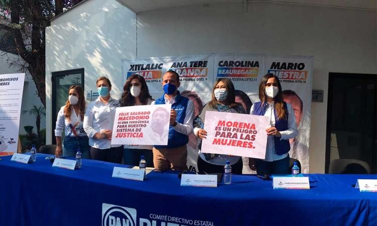 No es prioridad el aborto, manifiestan candidatas de Va Por México en Puebla