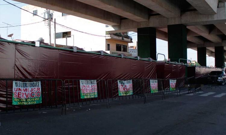 Fecha para remodelación de mercado Amalucan es incierta
