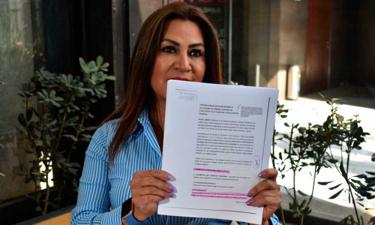¡Esto no se acaba! Insiste Blanca Jiménez en impugnar candidatura de Edmundo Tlatehui en San Andrés Cholula