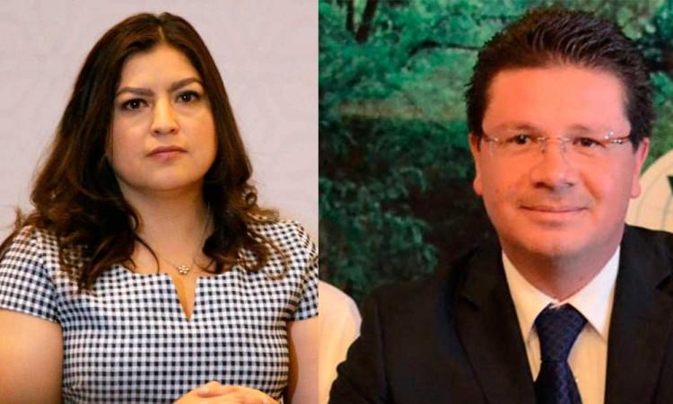 Revalida Morena a Claudia Rivera y Julio Lorenzini como candidatos a las alcaldías de Puebla y San Pedro Cholula
