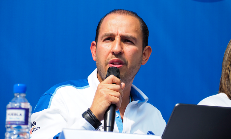 Dirigente nacional Marko Cortés