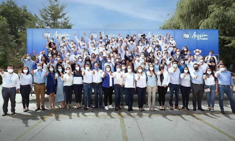 Planilla ciudadana y partidista conforma Eduardo Rivera como candidato a la alcaldía de Puebla