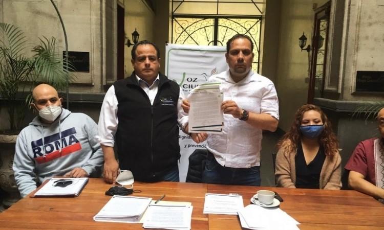 Convoca ONG a candidatos por Puebla a firmar por los Derechos Humanos; Alejandro Carvajal el primero que se compromete