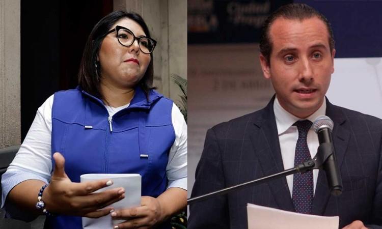Evade Genoveva Huerta incongruencia de Riestra al firmar pacto por la infancia