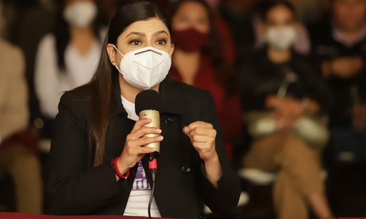 Claudia Rivera sí utilizó recursos públicos para precampaña, sentencia Trielec; impone amonestación pública
