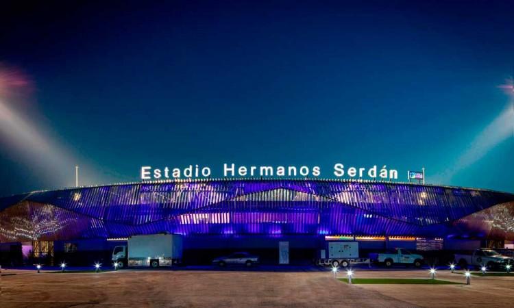 El Estadio de béisbol Hermanos Serdán abrirá con un aforo del 24 por ciento