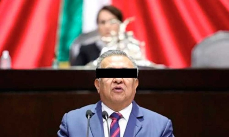 Hasta mayo se votaría quitar o no el fuero a Saúl Huerta en la Cámara de Diputados