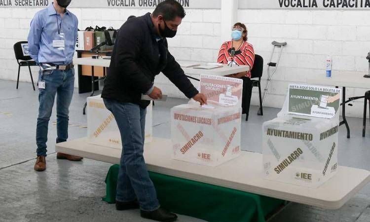 Espera IEE participación electoral del 40% el 6 de junio en Puebla