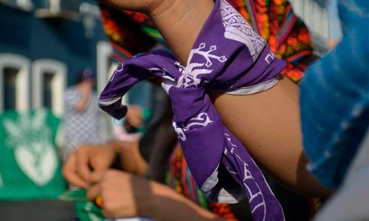 Feministas se manifiestan, acusan que el PAN las criminaliza