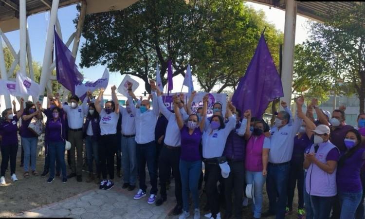 """Ofrece Alfredo Victoria, candidato del PES a la alcaldía """"sanar a Puebla"""""""