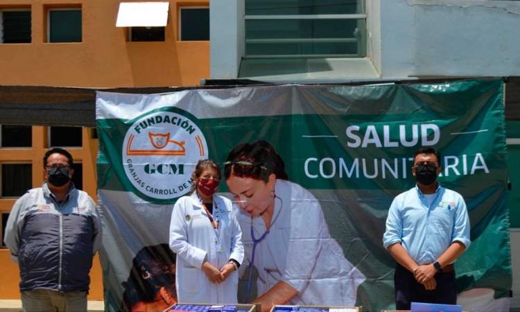 ¡Los buenos son más! Fundación Granjas Carroll y Fundación Grupo México realizan donativo al municipio de Perote